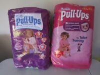 huggies pull-ups - size L
