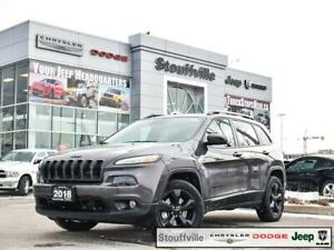 2018 Jeep Cherokee Limited High Altitude, Safety, Tech, Roof, Na