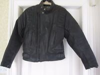Mens Akito Motorcycle Leather Jacket