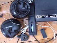 LG DVD PLAYER+3 SPEAKERS