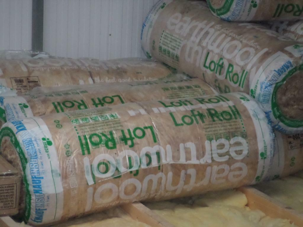 two rolls of knauf insulation 200mm thick in st. Black Bedroom Furniture Sets. Home Design Ideas
