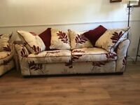 2x Large Sofas for sale - Uckfield