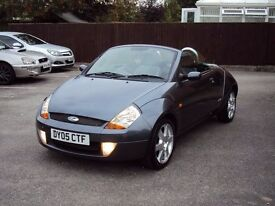 FORD STREETKA 1.6 LUXURY PININFARINA EDITION LOW MILEAGE LEATHER HEATED SEATS+ALLOYs+LONGMOT £1195