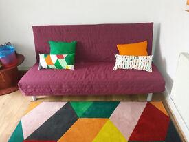 Three seats - sofa bed fom IKEA
