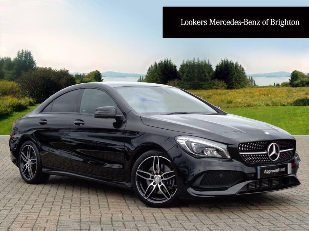 mercedes benz cla cla 220 d amg line black 2017 02 07 in portslade east sussex gumtree. Black Bedroom Furniture Sets. Home Design Ideas