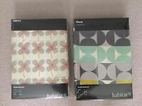 2 x Habitat DOUBLE duvet and pillow sets
