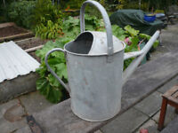 Antique Galvanised metal watering cans