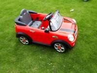 Ride on mini