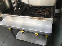 Three burner gas grill
