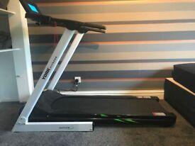 Treadmill, weights bench & weights