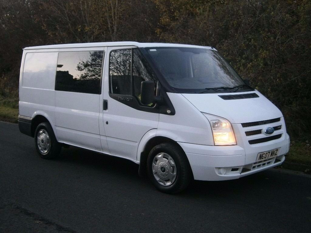 2007(07) FORD TRANSIT T280 SWB 6-seater FACTORY CREW VAN CAB-IN VAN COMBI, CHEAPEST EVER, NO VAT!!