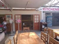 Cafe and Shop units to rent in Garden centre, No deposit, Bills included, Crews Hill Enfield