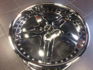 """20"""" MHT Niche Forged chome wheels for Bentley, Audi & VW"""