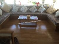 HAPPY DAYS CARAVAN FOR HIRE TOWYN NORTH WALES 8 BERTH 3 BEDROOM DATES FROM SEPTEMBER ONLY