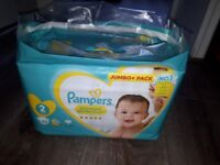 Pampers premium protection pack, size 2, 86 nappies