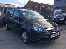 2013 Vauxhall zafira 7 seats 1.7 cdti 6 speed 12 month mot genuine low mileage