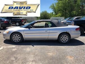 2002 Chrysler Sebring GTC CONVERTIBLE/ LOADED/ LEATHER/ AC/ AS-T