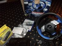 Logic 3 Top Drive Force steering wheel and pedals