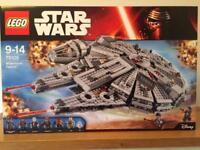 Lego Millennium Falcon 75105 (New, mint in box)