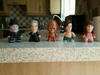 Dr Who Titan Vinyl Figures