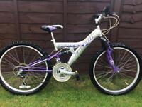 Girls falcon mountain bike