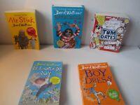 Job lot of David Walliams books and Tom Gates book