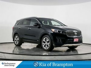 2017 Kia Sorento SX+. V6. PANO ROOF. HTD/COOLED SEATS. PWR LIFTG
