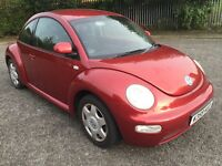 VOLKSWAGEN BEETLE 2.0 2 FORMER KEEPERS FULL SERVICE HISTORY