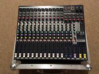 Soundcraft EFX12 Mixing Desk & Flight Case