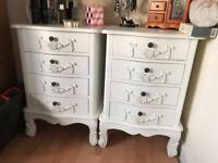 Cabinet chest of drawers shabby chic