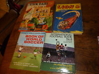 50's, 60's vintage books and Dan Dare jigsaw.