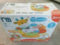 Mothercare Safari sit me up cosy baby infant toy - MINT