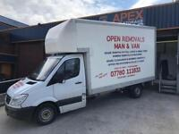 Man & Van House Removals Stoke on Trent Staffordshire Cheshire