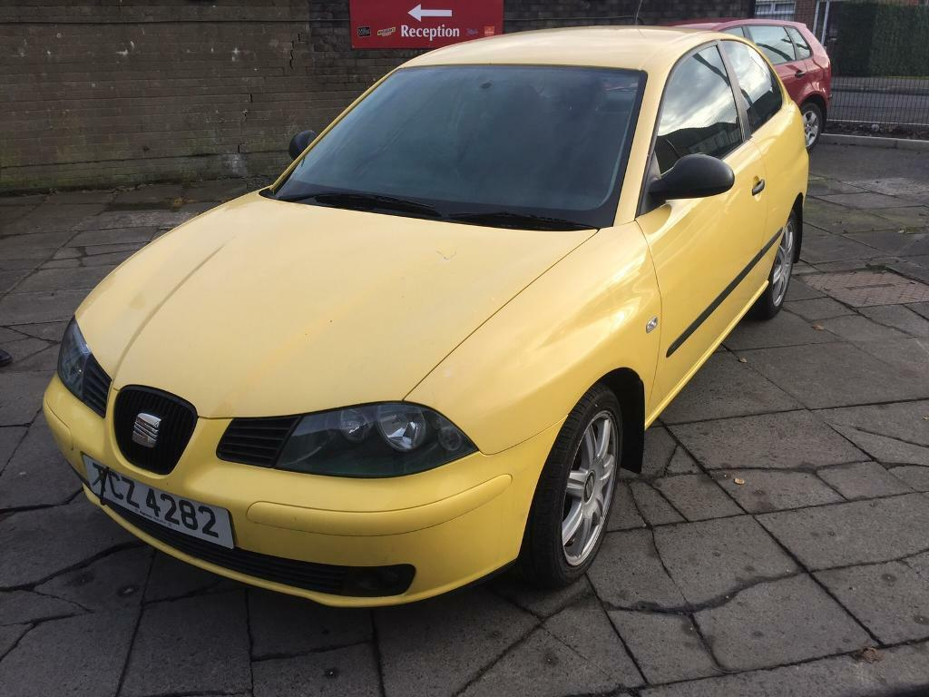 2003 Seat Ibiza 1.9 TDi 130 FR. Low miles-long MOT!
