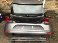 Vw polo complete rear end