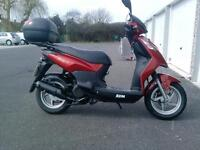 Sym Symply2 124cc twist and go moped