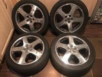 """Speedline Santa Monica 17"""" Alloy Wheels - OFFER ME"""