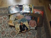 Job lot of 31 LP's Mathis/Denver/Daimond/Sinatra + box set N K Cole and many more collect from Eston