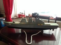 Custom Built Remote Control Battleship