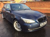 2008 BMW 520D SE, M-SPORT ALLOYS, LONG MOT NOVEMBER 2017