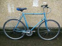 """Sunn Solo Road hybrid city bike 10 speed men's 23"""" frame f"""