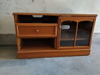Television Stand in Light Oak