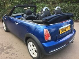 SENSIBLE OFFER CONSIDERED. Mini Cooper Convertible. Low Mileage at 75600. 12 months MOT. Nice car.