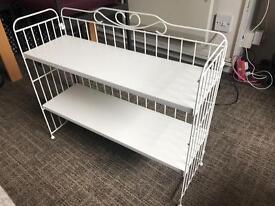 White desk shelf in great condition