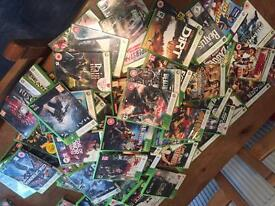 Xbox 360 games , job lot 66 games