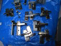 9 internal brass door handles