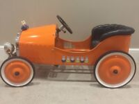 Beautiful vintage car - ride on - heirloom toy - immaculate