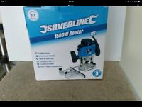 Silverline wood router
