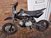 110cc stomp pit bike/ pitbike mint! Fast! Dirt bike/ scrambler/ mini moto/ demon x/ thumpstar