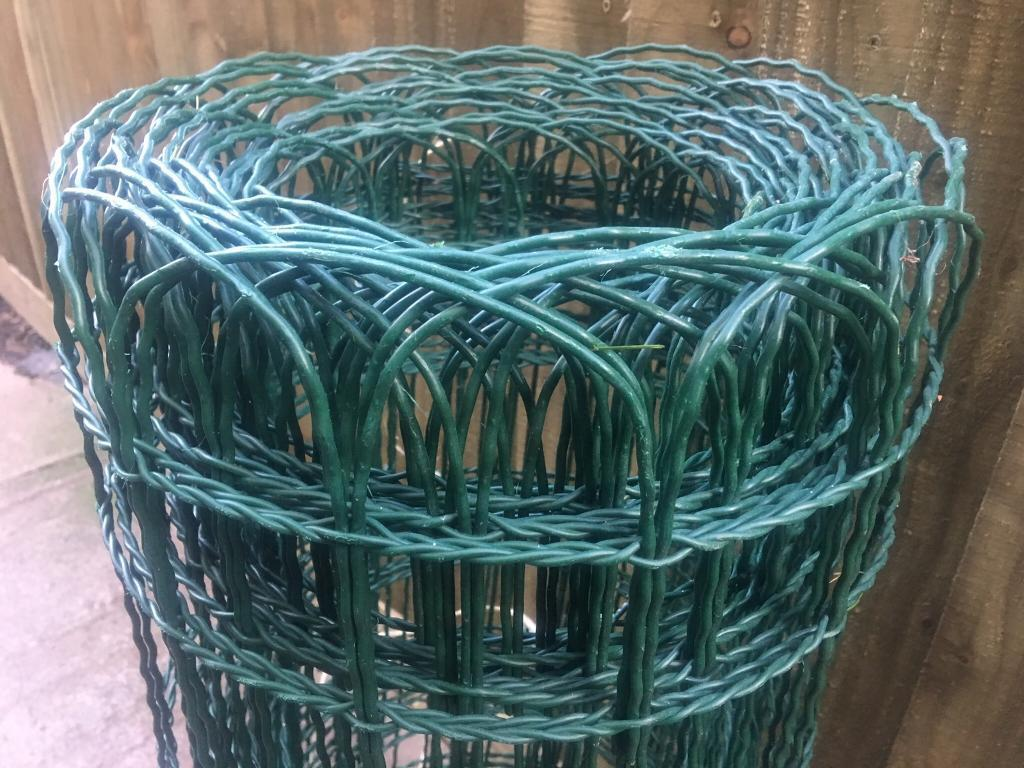 Plastic coated metal fence wire   in Undy, Monmouthshire   Gumtree